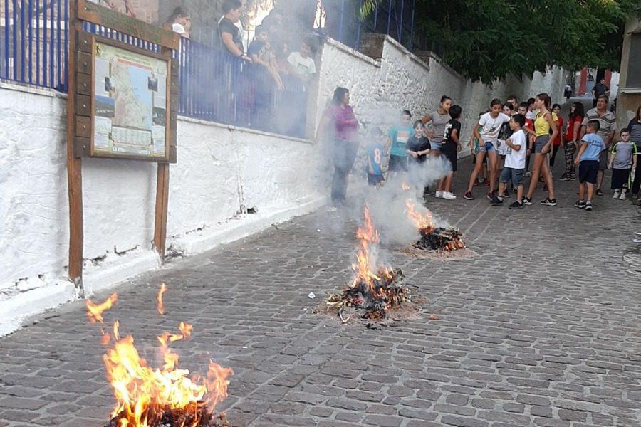 Στη Λουτρόπολη Θερμής έκαναν Κάψαλα με κλήδονα!