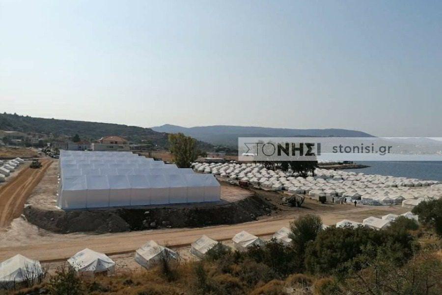 Σφοδρή κριτική ΣΥΡΙΖΑ Λέσβου για τη νέα δομή στον Καρά Τεπέ