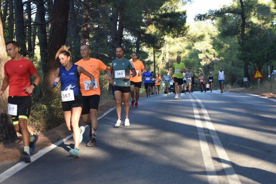 Ολοκληρώθηκαν οι αγώνες ορεινού τρεξίματος Rock & Trail Agiasos