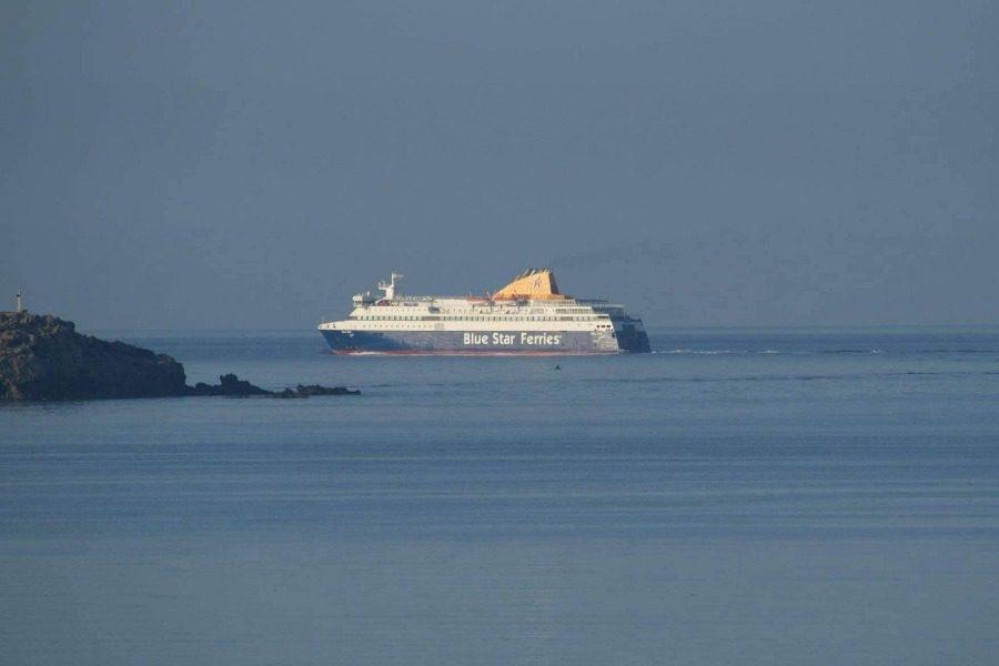 Έφτασε το «Νήσος Χίος» από το Σίγρι