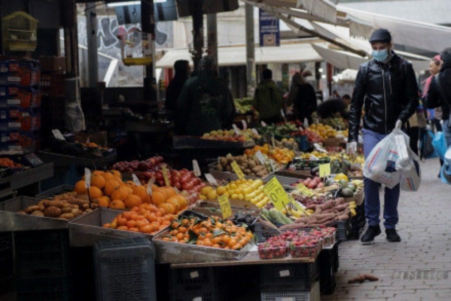 Ανοίγουν οι λαϊκές αγορές σε επιβαρυμένες επιδημιολογικά περιοχές