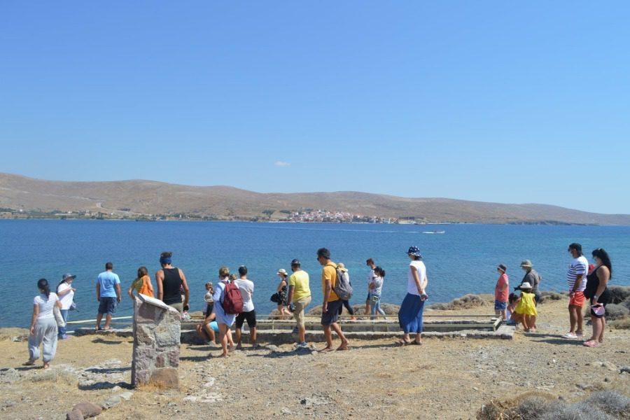 Οργανωμένες επισκέψεις στο θαλάσσιο πάρκο απολιθωμάτων της Νησιώπης