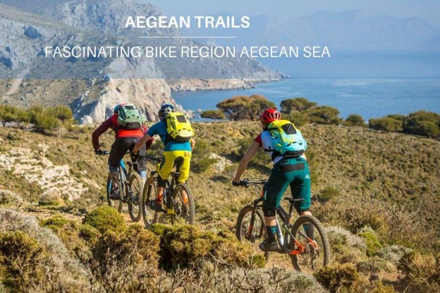 Η Λέσβος στον ποδηλατικό χάρτη της Aegean Trails
