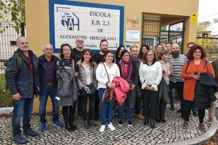Επίσκεψη καθηγητών του 3ου Γυμνασίου Μυτιλήνης στην Πορτογαλία!