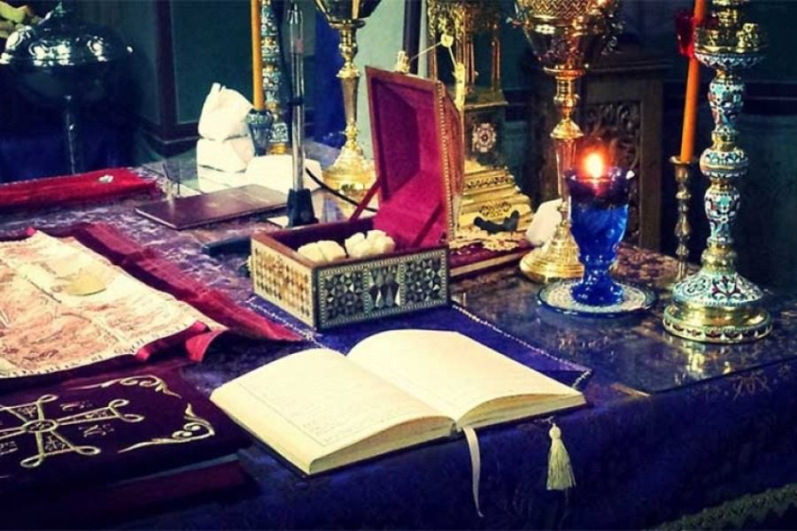 Aπευθείας από την Ι.Μ.Αγίου Ραφαήλ η Λειτουργία των Προηγιασμένων  Δώρων
