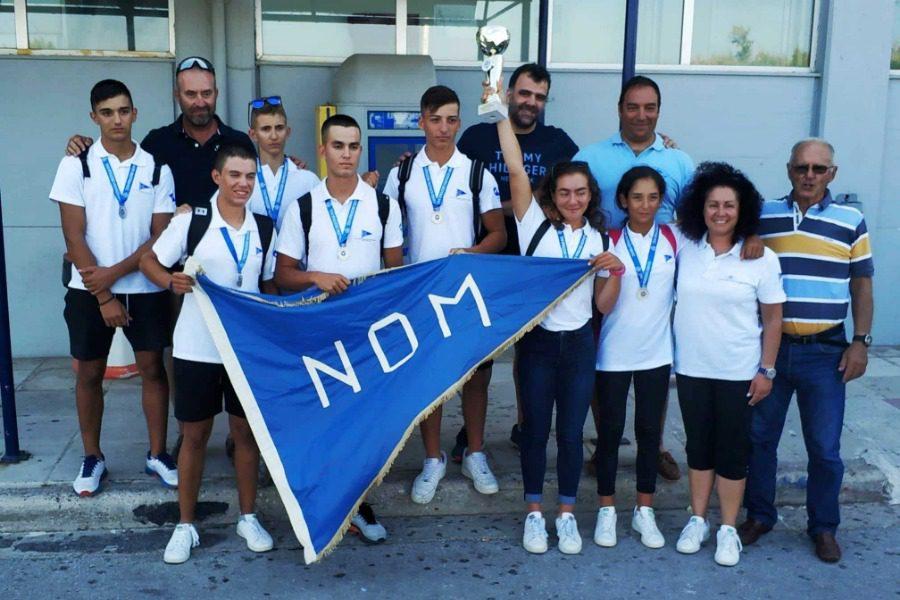 Πλήθος μεταλλίων για τους Μυτιληνιούς αθλητές στο Πανελλήνιο Πρωτάθλημα Κωπηλασίας