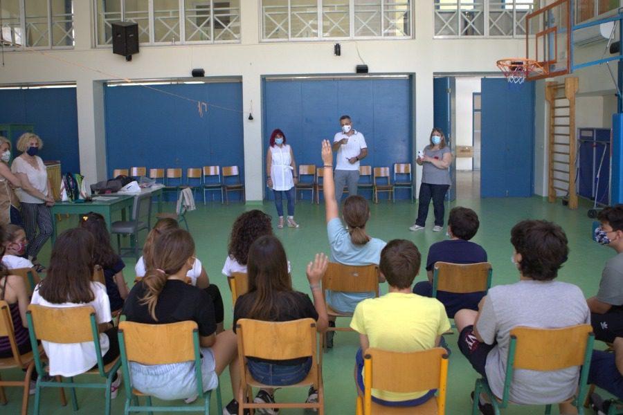 Το 6ο Δημοτικό Σχολείο «μαθαίνει»  τις τρισδιάστατες εκτυπώσεις