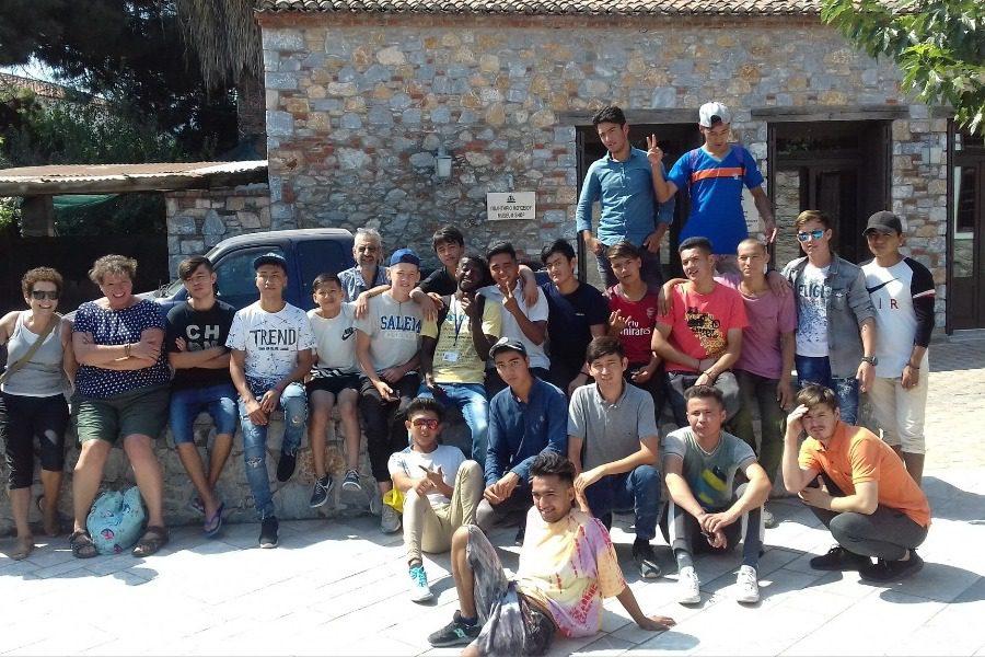 Στο Μουσείο Βρανά 41 παιδιά από τη Μόρια