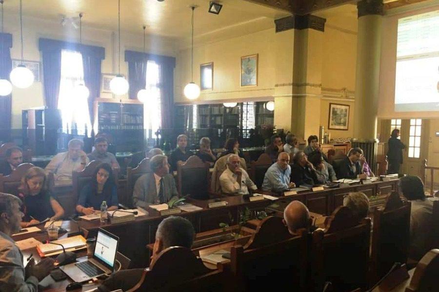 Μια συνάντηση για το ΕΣΠΑ που κατέληξε σε ανακοίνωση για το προσφυγικό