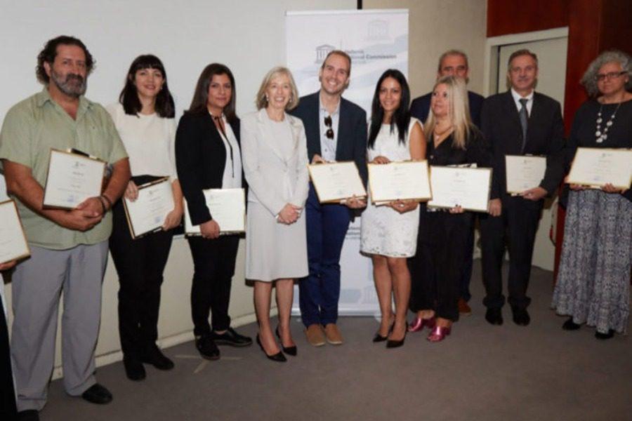 Ο δάσκαλος Γιώργος Ζορμπάς από τη Γέρα βραβεύτηκε από την UNESCO