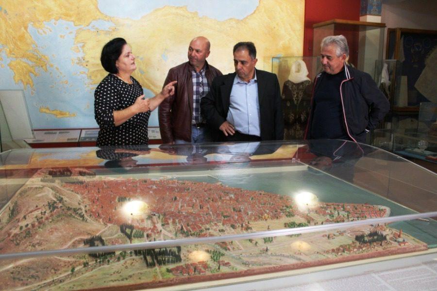 Στο Μουσείο Προσφυγικής Μνήμης ο Στρατής Κύτελης