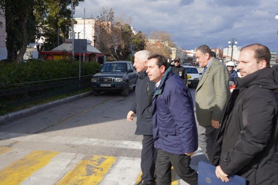 Στη Μυτιλήνη ο Υπουργός Μετανάστευσης Νότης Μηταράκης