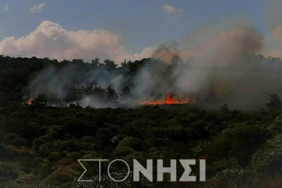 Φωτιά στην Καράβα από άνδρες των ΜΑΤ