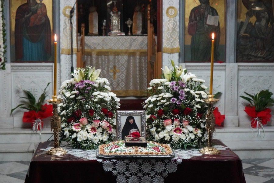Με κατάνυξη η Αγρυπνία στην Ιερά Μονή Αγίου Ραφαήλ