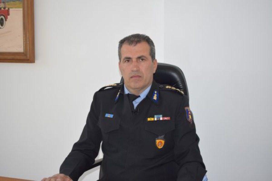 Ο  Χριστόφορος Μπόκας νέος Περιφερειακός Διοικητής Βορείου Αιγαίου της Πυροσβεστικής Υπηρεσίας