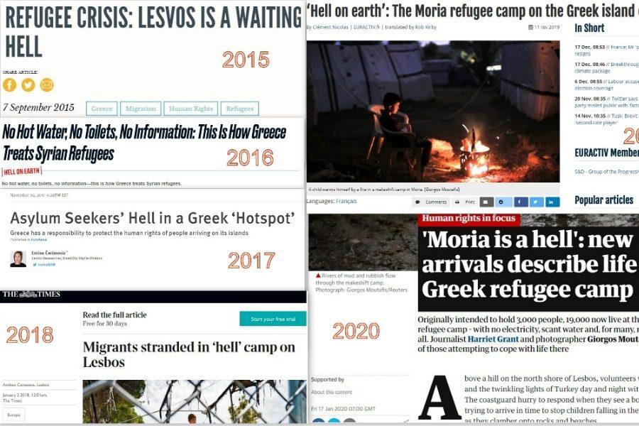 Η Μόρια είναι κόλαση, τους κάνουμε το βίο αβίωτο και αυτοί εξακολουθούν να έρχονται. Η κυβέρνηση θέλει να κάνει τα νησιά μας αποθήκες ψυχών.