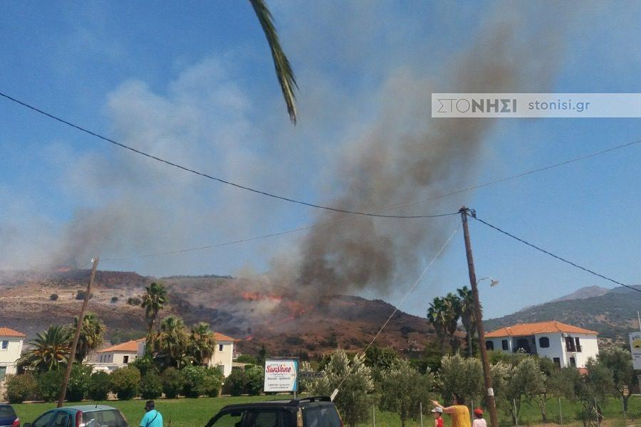 Περιορίζεται η φωτιά μεταξύ Πέτρας και Μολύβου!