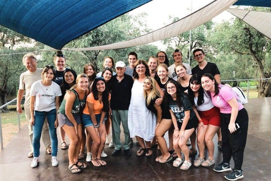 Έφυγαν με την Λέσβο στην καρδιά τους οι Αμερικανοί φοιτητές