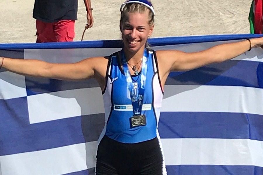 Ασημένιο μετάλλιο για τη Μυτιληνιά Χρυσή Καλίτσα