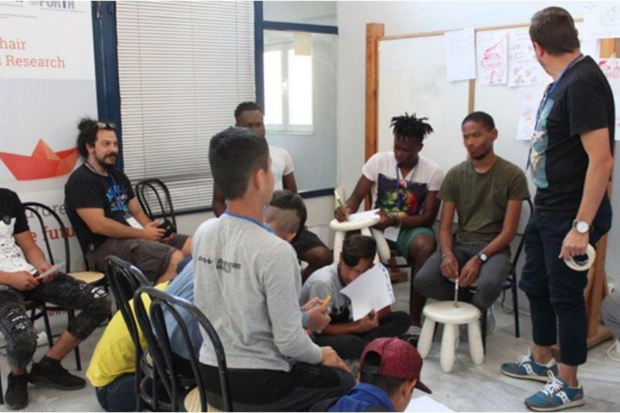 Δράσεις για ασυνόδευτους ανήλικους πρόσφυγες στη Μυτιλήνη