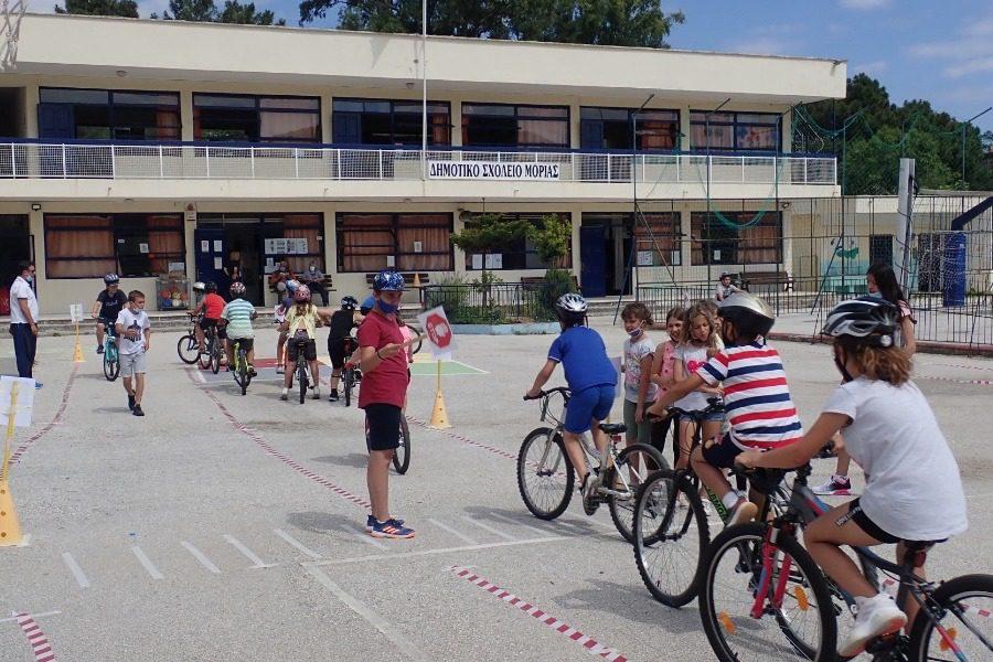 3ος ποδηλατικός αγώνας για τους μαθητές της Μόριας