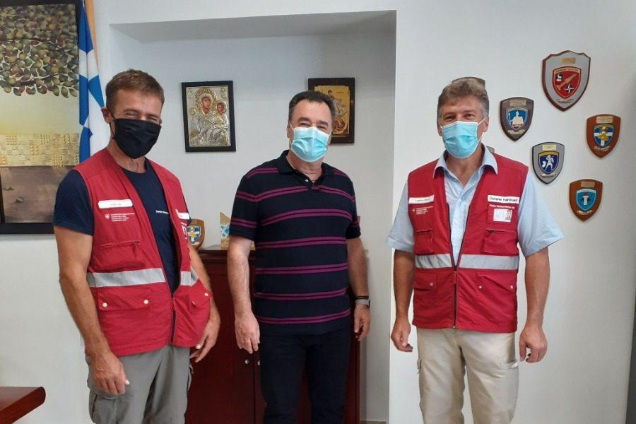 Ελβετική βοήθεια στο Νοσοκομείο Μυτιλήνης