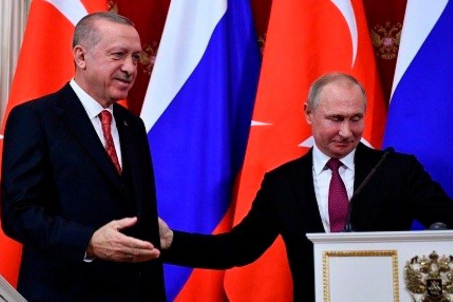 Η συνάντηση Ερντογάν‑Πούτιν ανέδειξε τις διαφορές τους για τη Συρία