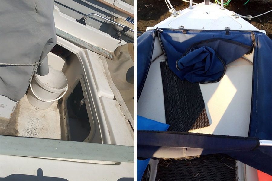 Διάρρηξη και καταστροφές σε αλιευτικά σκάφη της Λ. Θερμής