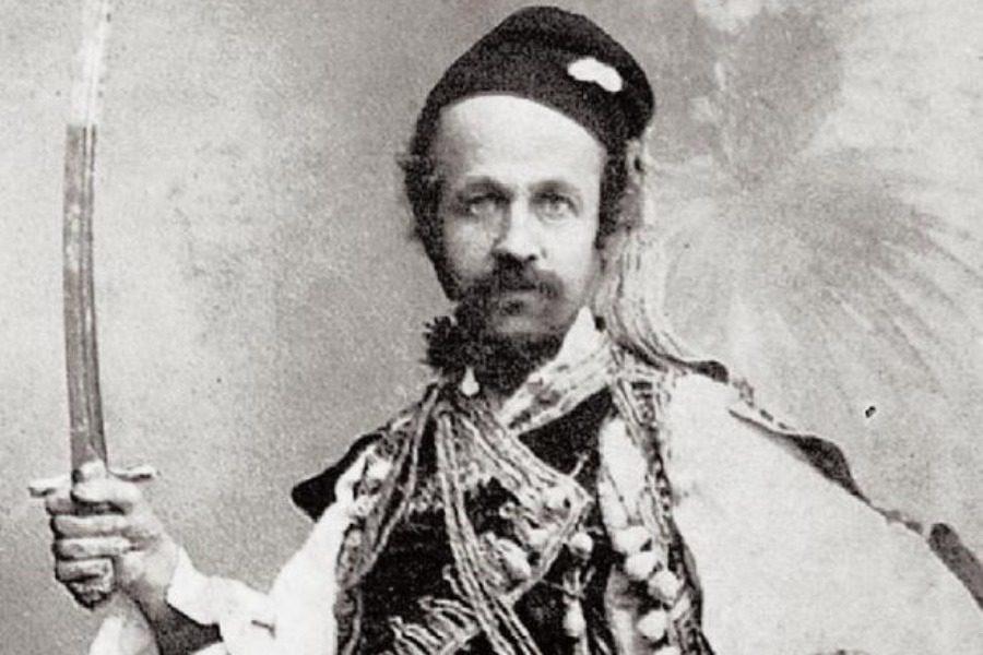 Όταν ο Μυτιληνιός «φουστανελάς» μπήκε στο Μουσείο του Λούβρου
