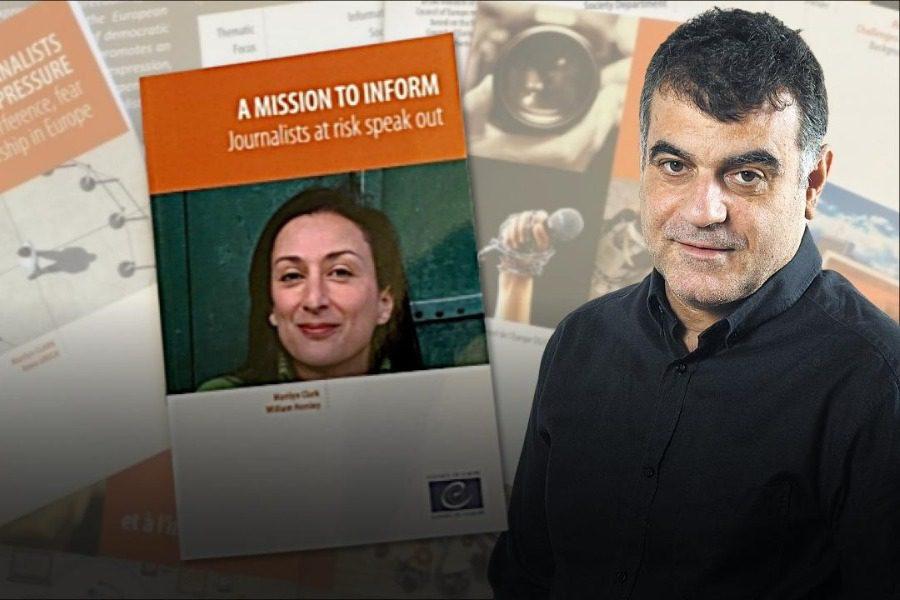 Ο Κώστας Βαξεβάνης σε βιβλίο για την ασφάλεια των δημοσιογράφων
