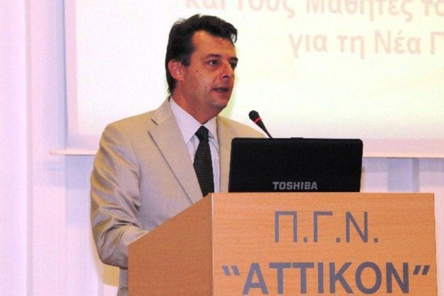 Ο Γεωλόγος Χρήστος Ροϊλός  Διοικητής της 2ης Υγειονομικής Περιφέρειας Πειραιώς και Αιγαίου