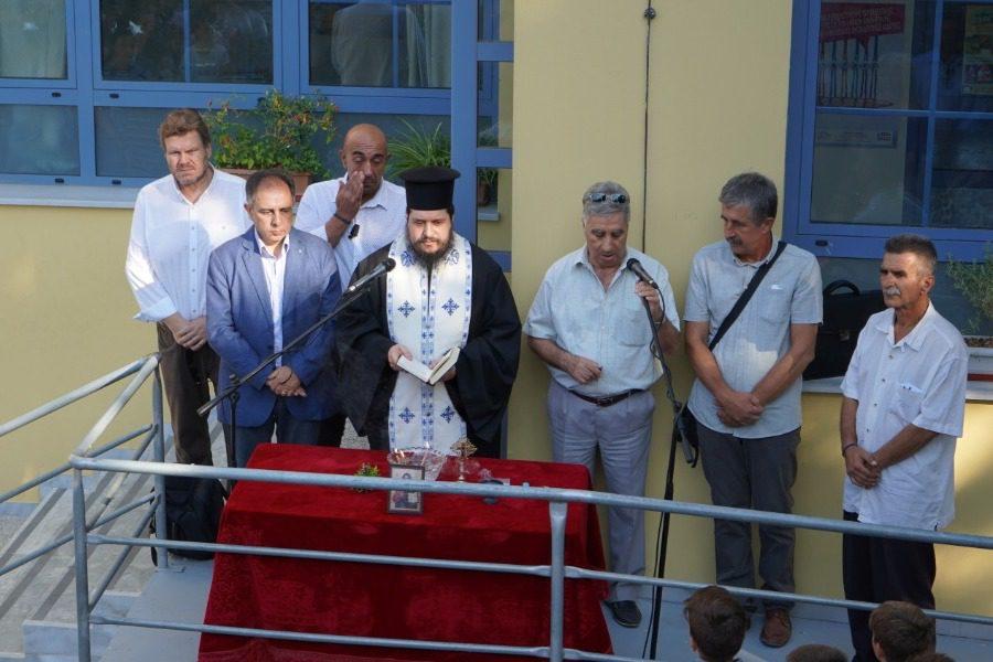«Ο Δήμος Μυτιλήνης θα βρίσκεται κοντά στην εκπαιδευτική κοινότητα»