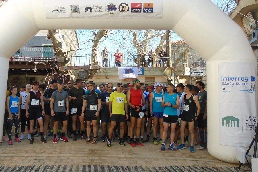 Aγώνες ορεινού τρεξίματος στην Αγιάσο