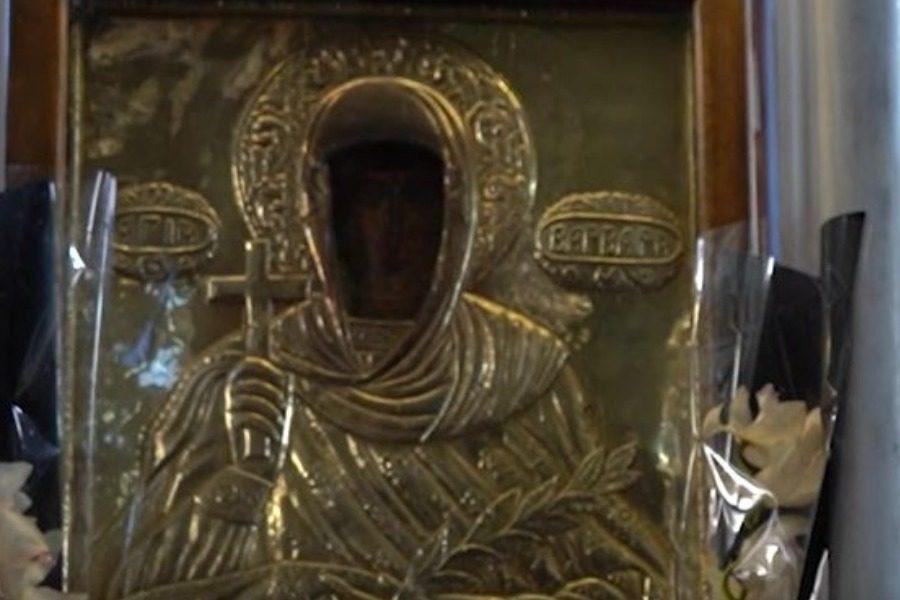 Πανηγυρίζει ο Ιερός Ναός Αγίας Βαρβάρας στα Πάμφιλα