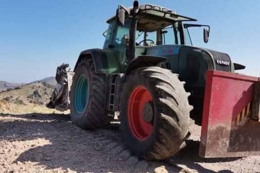 Συνεχίζεται  η αγροτική οδοποιία στη Δυτική Λέσβο