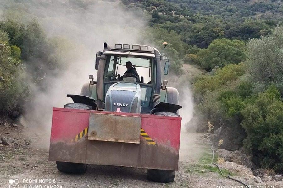 Ολοκληρώνεται το αγροτικό δίκτυο της Δυτικής Λέσβου