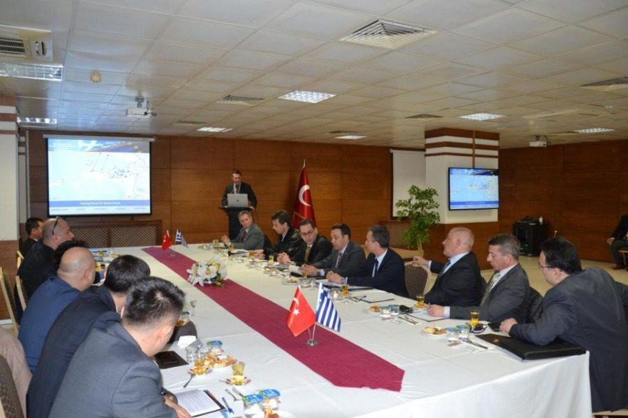 Συνάντηση Ελληνικής και Τουρκικής Ακτοφυλακής στο Αϊβαλί