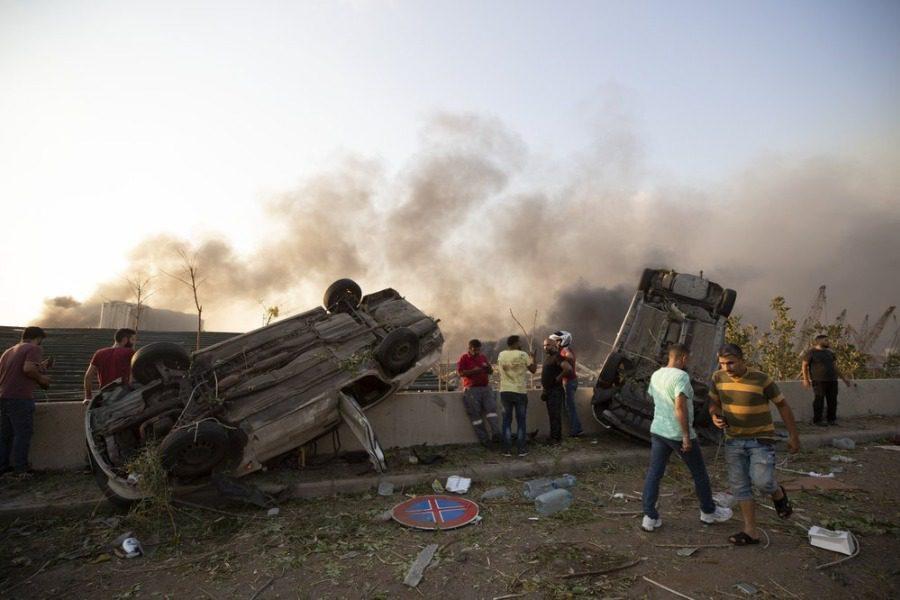 Ισχυρή έκρηξη στη Βηρυτό: Τουλάχιστον 30 νεκροί
