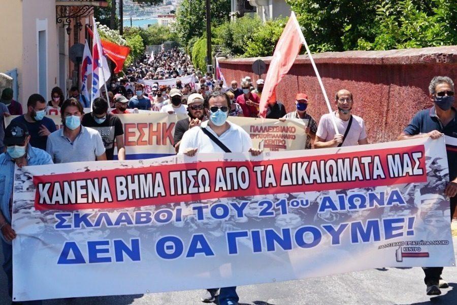 «Η συμμετοχή μας στην απεργία είναι απάντηση στα σχέδια τους»