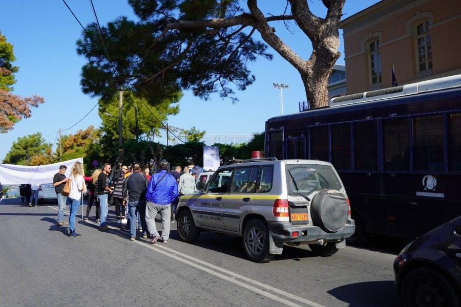 Στη Γενική Γραμματεία Αιγαίου η διαμαρτυρία των υπαλλήλων της καθαριότητας