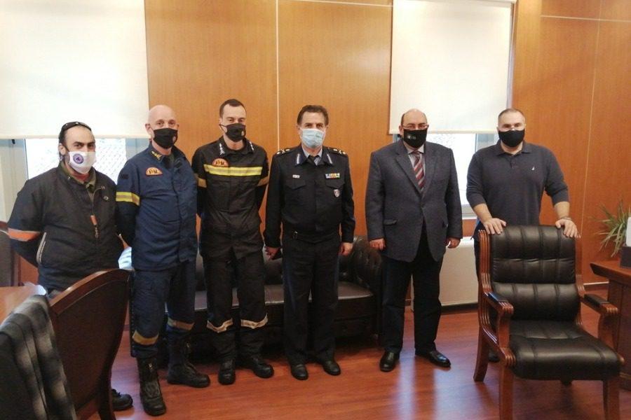 Φεύγει από τη Διεύθυνση Πυροσβεστικής Βορείου Αιγαίου ο Κώστας Θεοφιλόπουλος