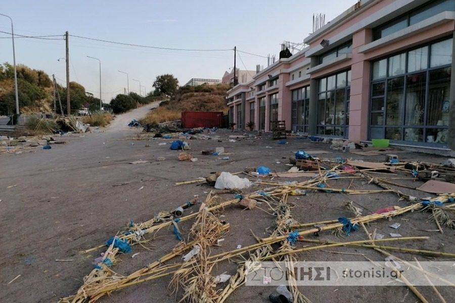 Στον Δήμο Μυτιλήνης για τις αποζημιώσεις