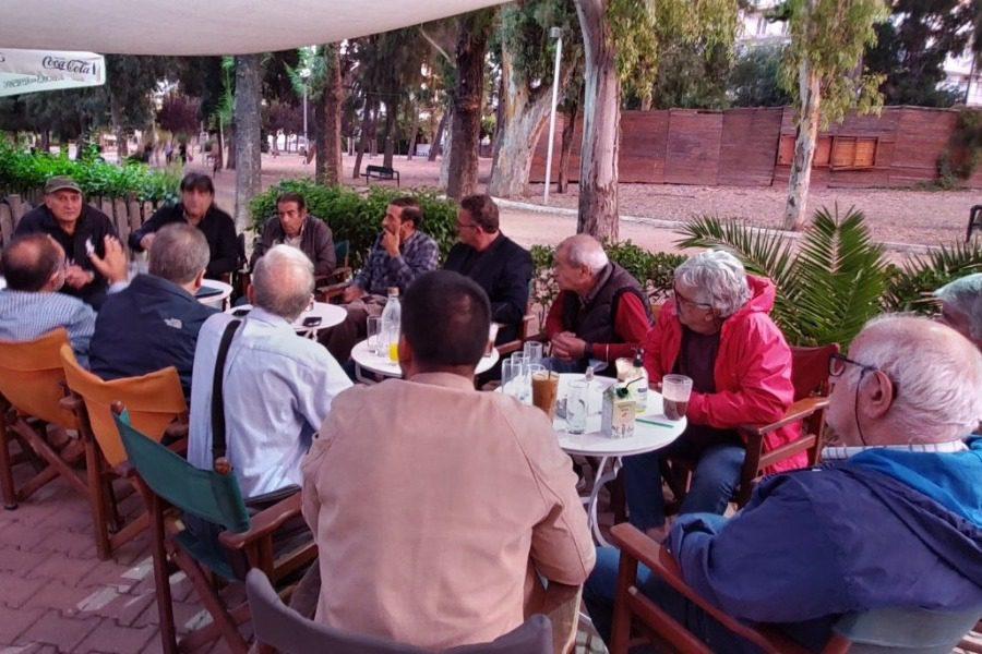 Συνάντηση Κώστα Αρβανίτη με τους συνταξιούχους του ΝΑΤ