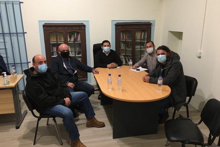 Συνάντηση Μπουρνού με Ένωση Αστυνομικών Υπαλλήλων Λέσβου