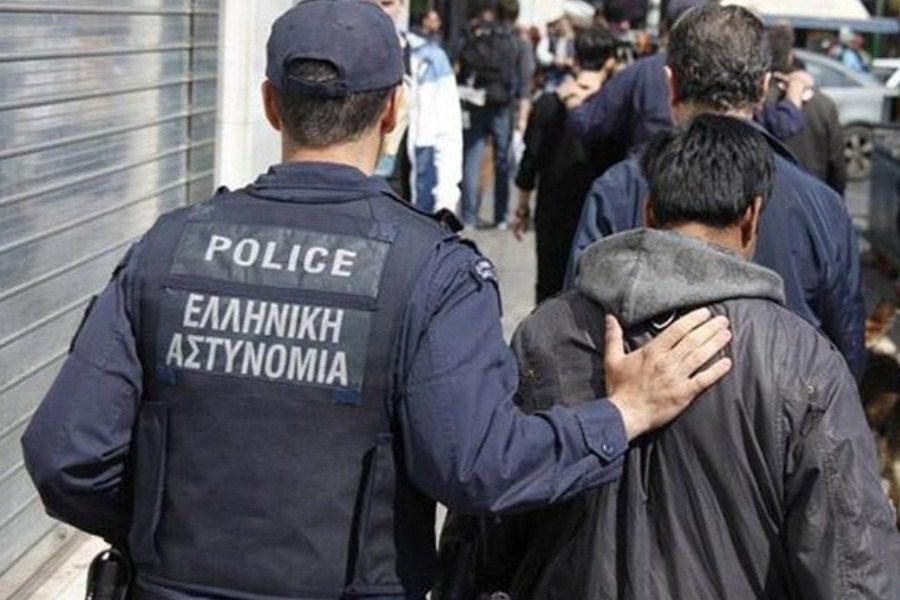 Συλλήψεις αλλοδαπών για τις πράξεις βίας