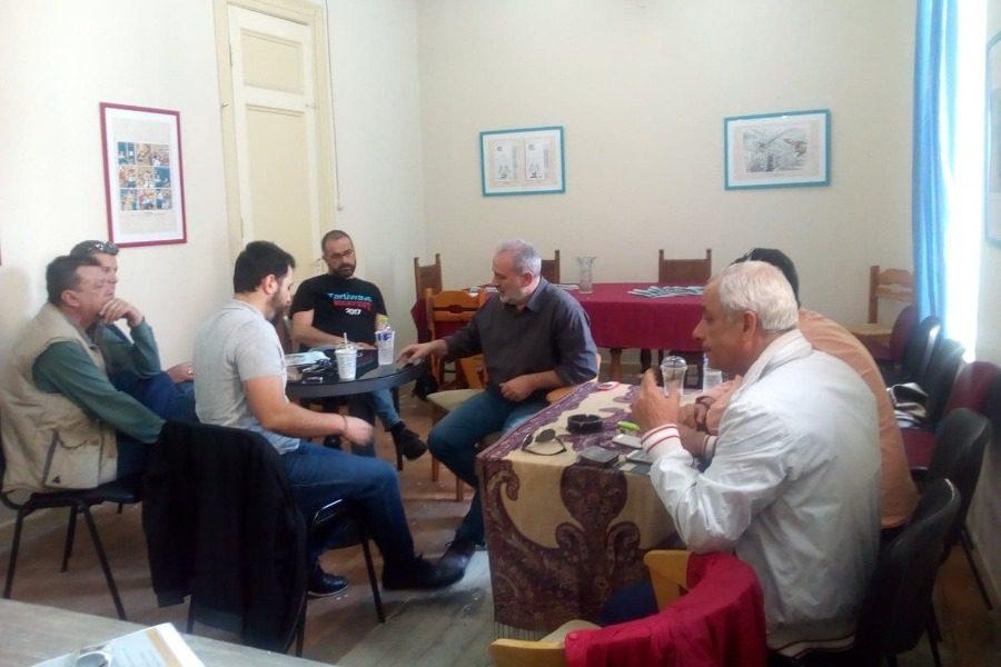 Με ιδιοκτήτες εστίασης και καφέ ο Αστυρακάκης