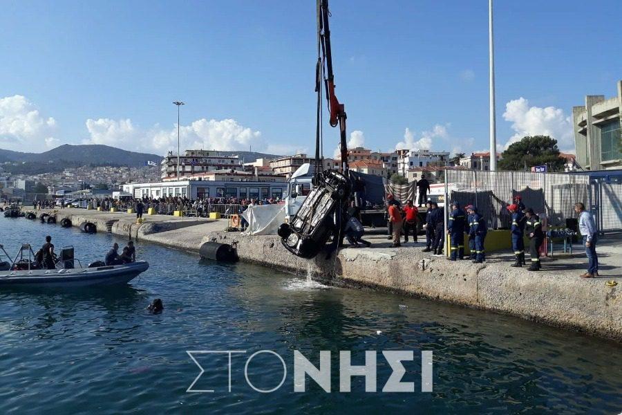 Νεκρός ο οδηγός μέσα στο αυτοκίνητο που έπεσε στο λιμάνι