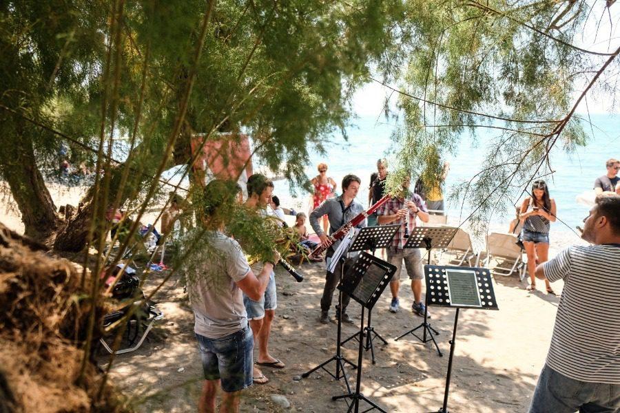 Στο σχολείο Αγίας Παρασκευής η πρώτη συναυλία του Διεθνούς Φεστιβάλ Μολύβου