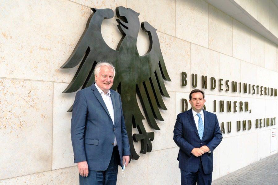 Ενίσχυση της συνεργασίας Ελλάδας ‑ Γερμανίας σε σημαντικούς τομείς της διαχείρισης της μετανάστευσης