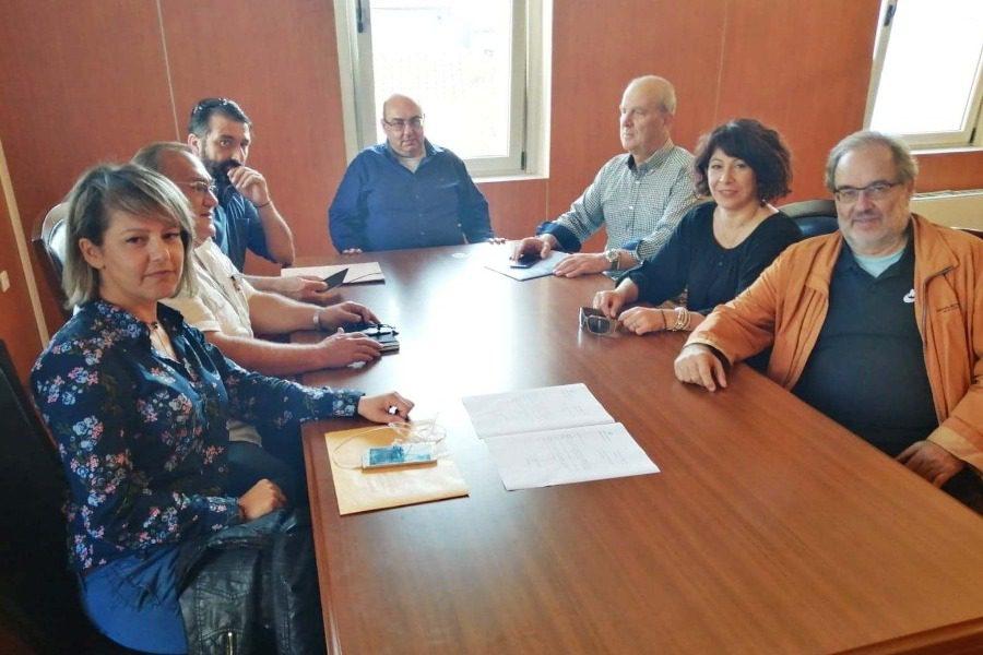Συνάντηση Βέρρου με το Δίκτυο Κοινοτήτων Λέσβου